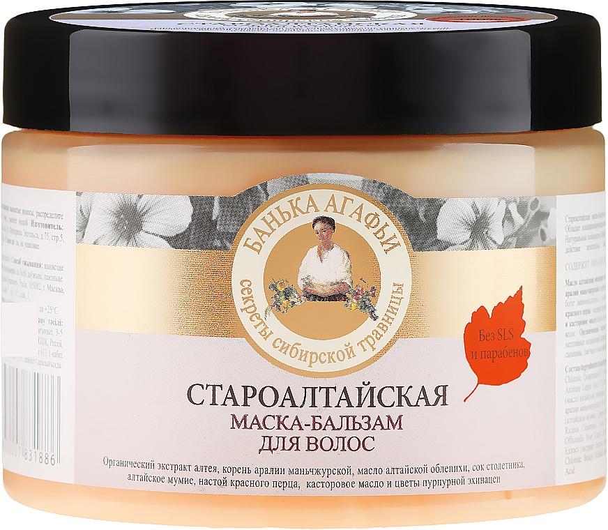 Mască-balsam pentru păr - Rețete bunicii Agafia