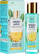 Parfumuri și produse cosmetice Esență hidratantă pentru față - Bielenda Fresh Juice Brightening Hydro Essence Pineapple