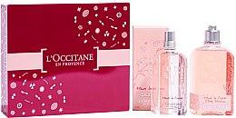 Parfumuri și produse cosmetice L'Occitane Cherry Blossom - Set (edt/75ml + shg/250ml)