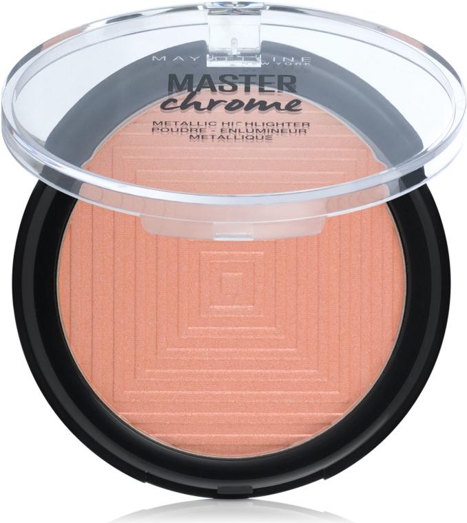 Iluminator pentru față - Maybelline Face Studio Master Chrome Metallic Highlighter