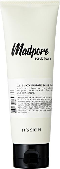 Spumă-scrub de curățare - It's Skin Mad Pore Scrub Foam — Imagine N1