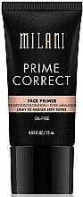 Parfumuri și produse cosmetice Primer pentru față - Milani Prime Correct Diffuses Discoloration + Pore-minimizing Face Primer Light/Medium
