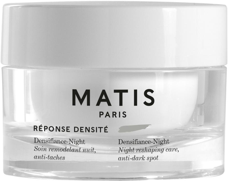 Cremă de noapte pentru față - Matis Reponse Densite Densifiance-Night — Imagine N1