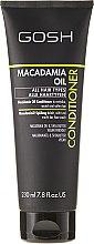 Parfumuri și produse cosmetice Balsam de păr - Gosh Macadamia Oil Conditioner