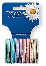 Parfumuri și produse cosmetice Elastice pentru păr 24 buc., 21275 - Top Choice