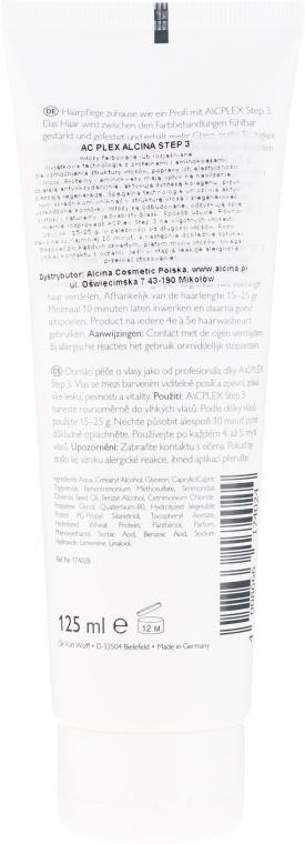 Balsam regenerant pentru păr - Alcina A/C Plex, 3 — Imagine N2