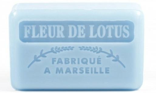 "Săpun de Marsilia ""Floare de Lotus"" - Foufour Savonnette Marseillaise Fleur De Lotus"