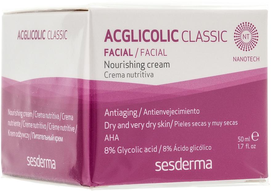 Cremă nutritivă de noapte - SesDerma Laboratories Acglicolic Classic Nourising Cream — Imagine N1