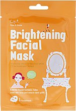 Parfumuri și produse cosmetice Mască de țesut revigorantă pentru față - Cettua Brightening Facial Mask