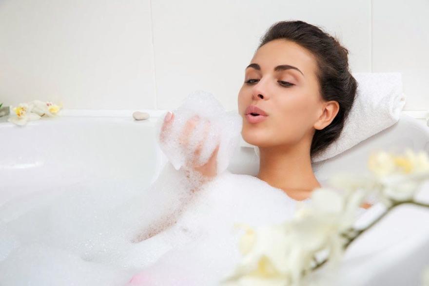Spumă de baie, cu lămâie și miere - Organic Shop Organic Lemon and Manuka Golden Bath Foam — Imagine N2