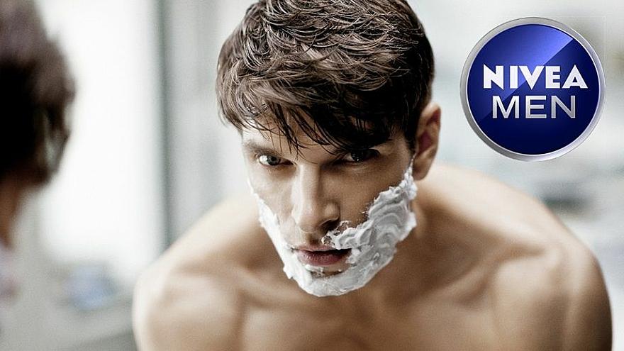 Spumă de ras pentru barbă aspră - Nivea For Men Strong Beard Shaving Foam — Imagine N2