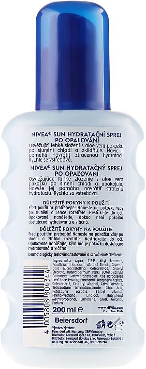"""Spray revitalizant """"Hidratare după expunerea la soare"""" - Nivea Sun Care Apres Spray De Soin — Imagine N2"""