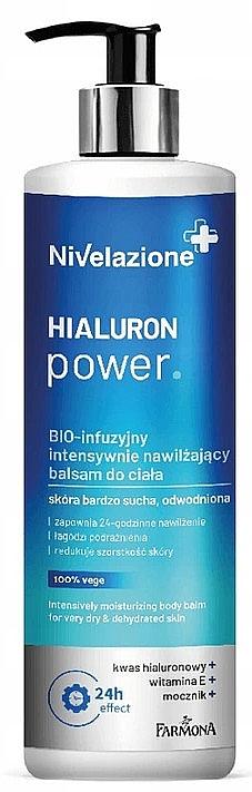 Balsam intensiv hidratant pentru corp - Farmona Nivelazione Hyaluron Power Body Balm