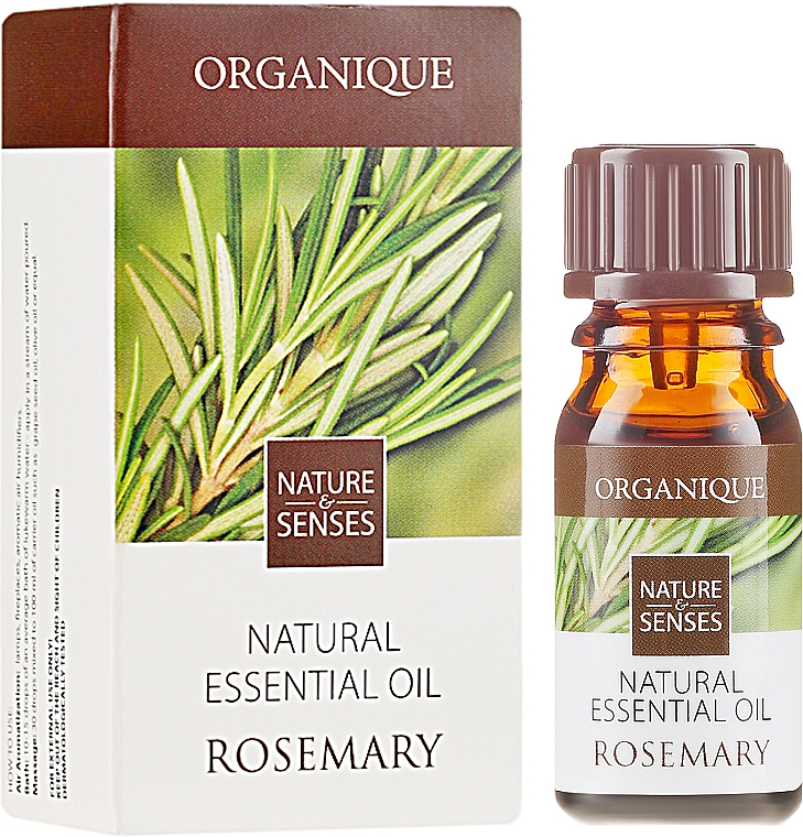 "Ulei esențial ""Rozmarin"" - Organique Natural Essential Oil Rosemary — Imagine N1"