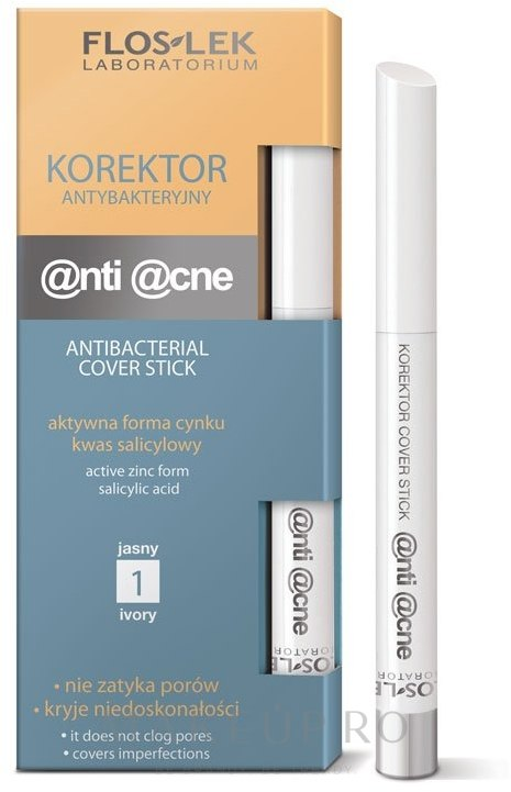 Corector de față - FlosLek Anti Acne Program Corrector — Imagine 1 - Ivory