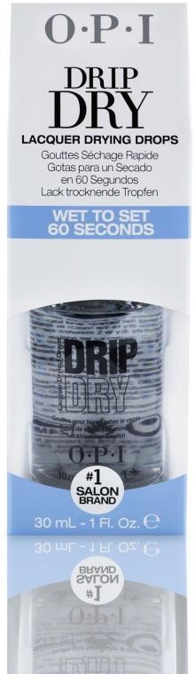 Lac pentru uscarea rapidă a unghiilor - O.P.I Drip Dry Drops — Imagine N2