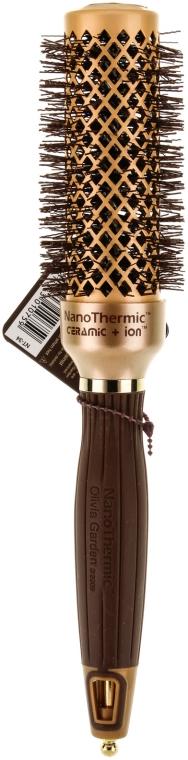 Perie Rotundă 34mm - Olivia Garden Nano Thermic ceramic + ion — Imagine N1