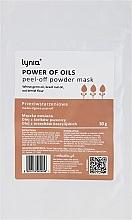 Parfumuri și produse cosmetice Mască de față - Lynia Power Of Oil Peel Off Powder Mask