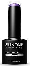 Parfumuri și produse cosmetice Gel-lac hibrid pentru ugnhii - Sunone UV/LED Gel Polish Color