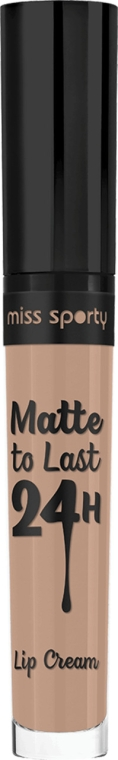 Ruj mat de buze - Miss Sporty Matte To Last 24h Lip Cream