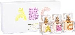 Parfumuri și produse cosmetice Karen Walker ABC Trio Collection - Set (3xedp/30ml)