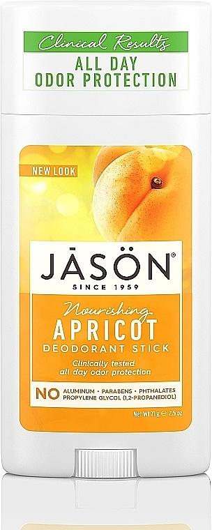"Deodorant-stick ""Caise"" - Jason Natural Cosmetics Pure Natural Deodorant Stick Apricot"