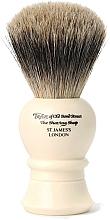 Parfumuri și produse cosmetice Pămătuf de ras, 9.5 cm, P1020 - Taylor of Old Bond Street Shaving Brush Pure Badger Size S