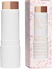 Parfumuri și produse cosmetice Corector-stick pentru față - Doll Face Contour Wizard Contour Split Sticks