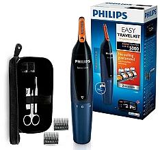 Parfumuri și produse cosmetice Trimmer pentru nas și urechi - Philips Series 5000 NT5180/15