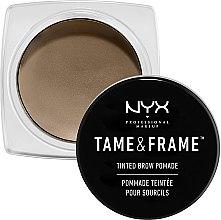 Parfumuri și produse cosmetice Pomadă pentru sprâncene - NYX Professional Makeup Tame & Frame Brow Pomade