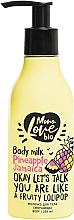 """Parfumuri și produse cosmetice Lapte """"Ananas"""" pentru corp - MonoLove Bio Pineapple Jamaica Body Milk"""
