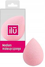 Parfumuri și produse cosmetice Burete de machiaj, roz - Ilu Sponge Raindrop Medium Pink