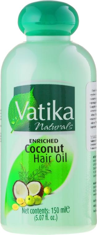 Ulei de cocos pentru păr - Dabur Vatika Enriched Coconut Hair Oil