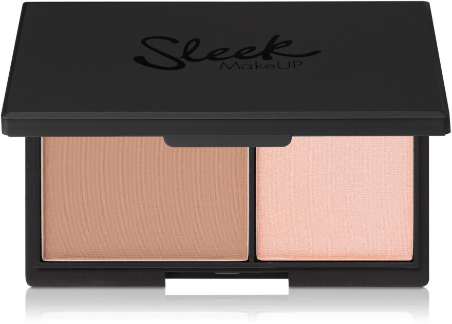 Pudră mată și iluminator - Sleek MakeUP Face Contour Kit