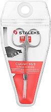Parfumuri și produse cosmetice Foarfece de manichiură, 24mm, SC-10/3 - Staleks Classic 10 Type 3