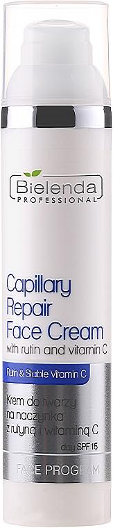 Cremă pentru cuperoză cu Rutin și vitamina C - Bielenda Professional Capilary Repair Face Cream