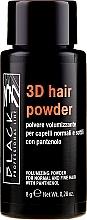Parfumuri și produse cosmetice Pudră pentru păr - Black Professional Line 3D Hair Powder