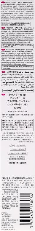 Booster pentru strălucirea părului - Kerastase Fusio Dose Booster Brillance Radiance — Imagine N3