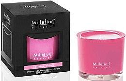 """Parfumuri și produse cosmetice Lumânare aromată """"Iasomie și Ylang-Ylang"""" - Millefiori Milano Natural Candle Jasmine Ylang"""