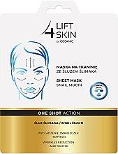 Parfumuri și produse cosmetice Mască cu extract de mucină de melc pentru față - Lift4Skin Sheet Mask Snail Mucin