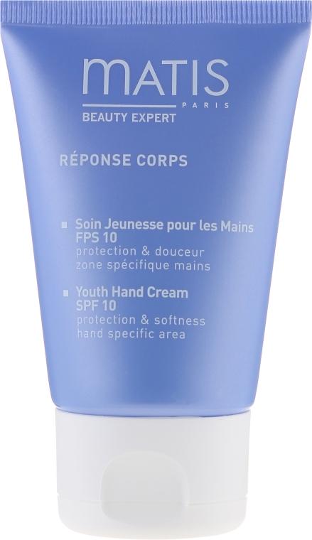 Cremă anti-rid pentru mâini - Matis Paris Reponse Corps Youth Hand Cream SPF10 — Imagine N2