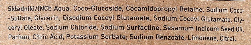 Gel de curățare pentru corp - Only Bio Fitosterol (Rezervă) — Imagine N3