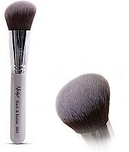 Parfumuri și produse cosmetice Pensulă machiaj - Nanshy Blush & Bronze A01 P. White