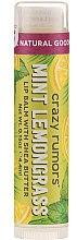 Balsam de buze - Crazy Rumors Peppermint Lemongrass Lip Balm — Imagine N1