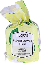 """Parfumuri și produse cosmetice Lumânare parfumată """"Cocktail din fructe de soc"""" - I Love... Elderflower Fizz Scented Candle"""