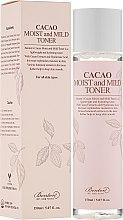Parfumuri și produse cosmetice Toner cu ulei de cacao pentru față - Benton Cacao Moist and Mild Toner