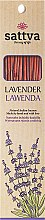 """Parfumuri și produse cosmetice Bețișoare aromatice """"Lavandă"""" - Sattva Lavender"""