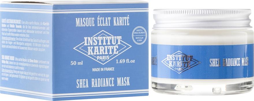 Mască regenerantă de față - Institut Karite Shea Radiance Cream — Imagine N1