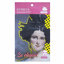 Parfumuri și produse cosmetice Mască în 2 etape pentru față - Oerbeua So Elegant Mask Sheet