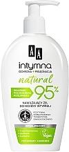 Parfumuri și produse cosmetice Gel micelar pentru igienă intimă - AA Intymna Natural 95%